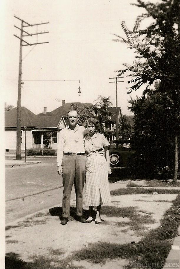 Luther Homer & Kittie Arizonia Parks Blalock