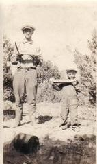 Ray & Leslie Allison, New Mexico 1925