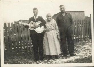 Euel, Gilbert, and Alice Combest