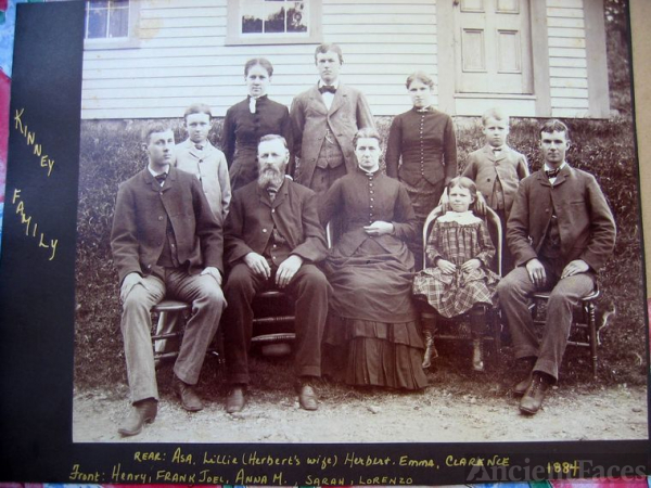 Family of Frank Joel and Anna M. Kinney