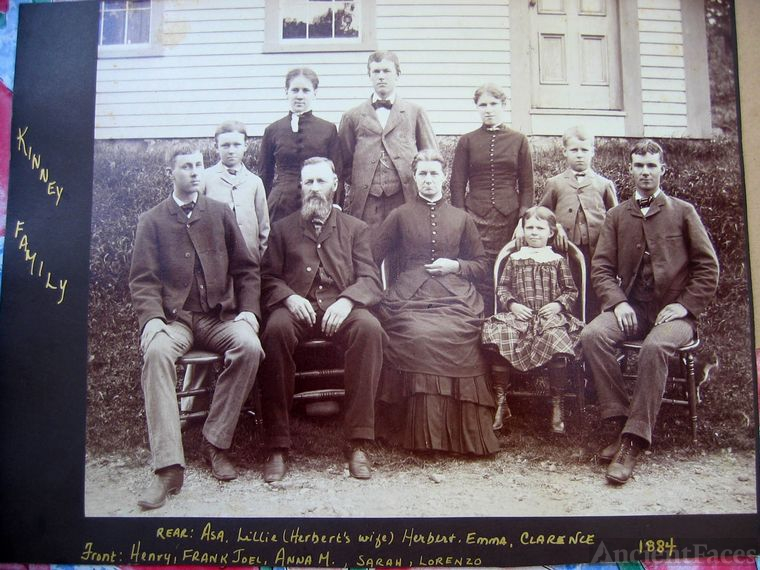 Family of Frank Joel and Anna M. Kinney