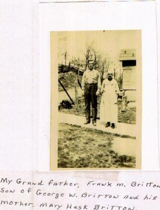 Frank W. Britton & Mary J Britton