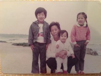Kwan Yoo Kim family