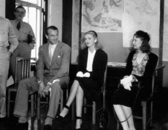 Una Merkel, Phyllis Brooks, Gary Cooper