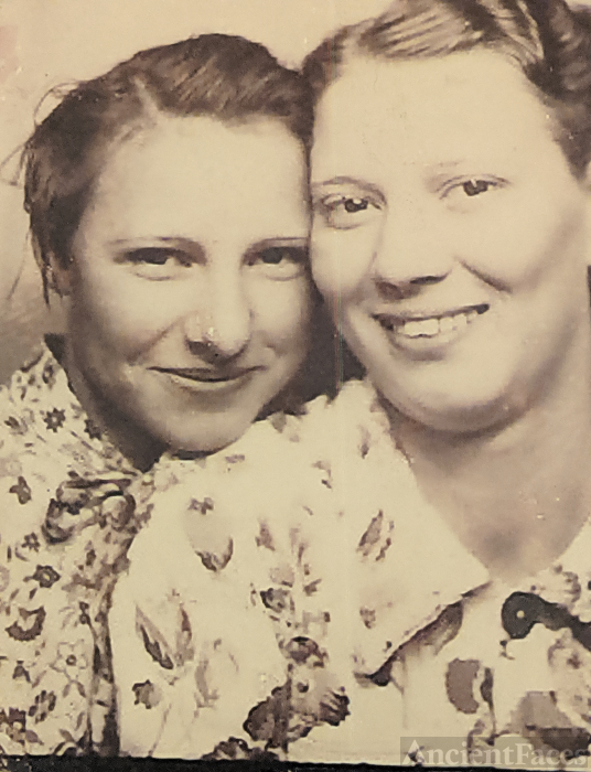 Mary Dimple Brown and Pauline Cox