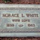 Horace L. White Gravesite