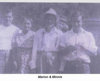Marion & Minnie (McCoy) Hinkle, KY