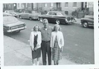 Debra, Joe, & Denise Riegel, New York c1965
