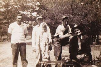 James Worley Hindman, Jr. and family