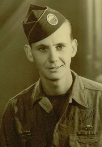 A photo of Pfc Wallace Dale McClurg