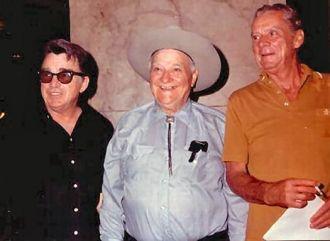 Russell Hayden, Max Terhune, and Las LaRue
