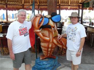 Bob & Harry in Costa Maya