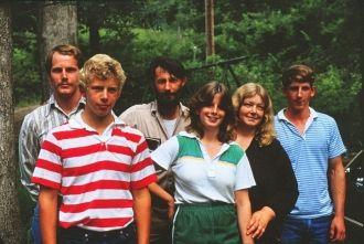 The Heckfords.John,Jerry,John Sr.Joanie,Bev and Joe