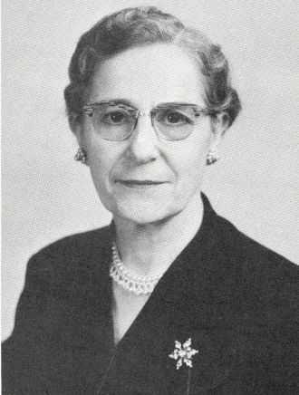 Mrs. Alma Lukins, Kentucky, 1955