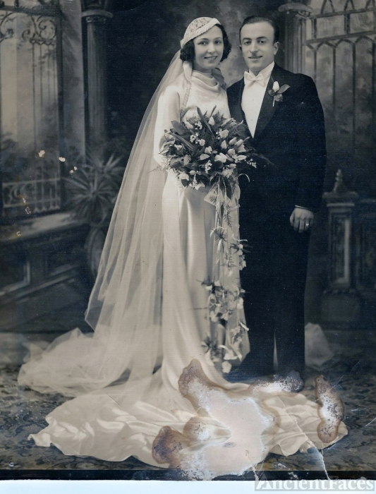 Clement & Doris Rintrona Wedding