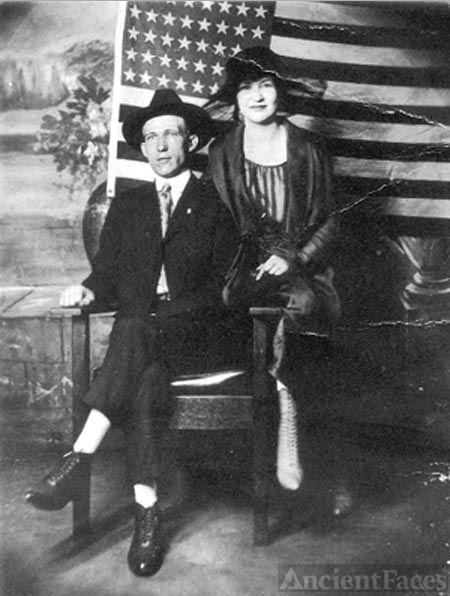 Harrison and Eula Holcomb, 1920 Virginia