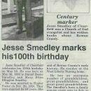 Jesse Emmett Smedley Turns 100