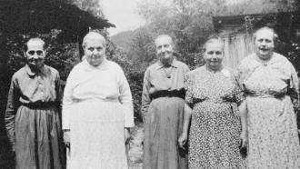 Walker Sisters, 1933