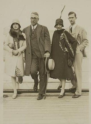 John Erskine and family, 1930's