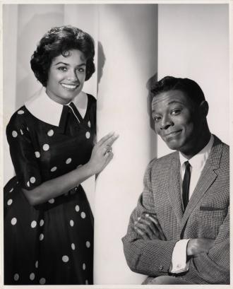 Barbara McNair and Nat King Cole