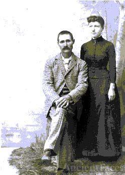 Edgar Mayhew & wife, New England