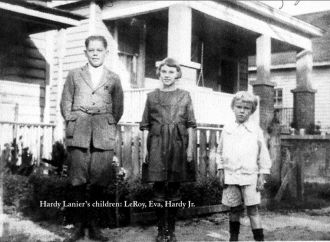 Children of Hardy Lanier