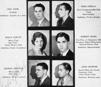 Galileo High School, 1932