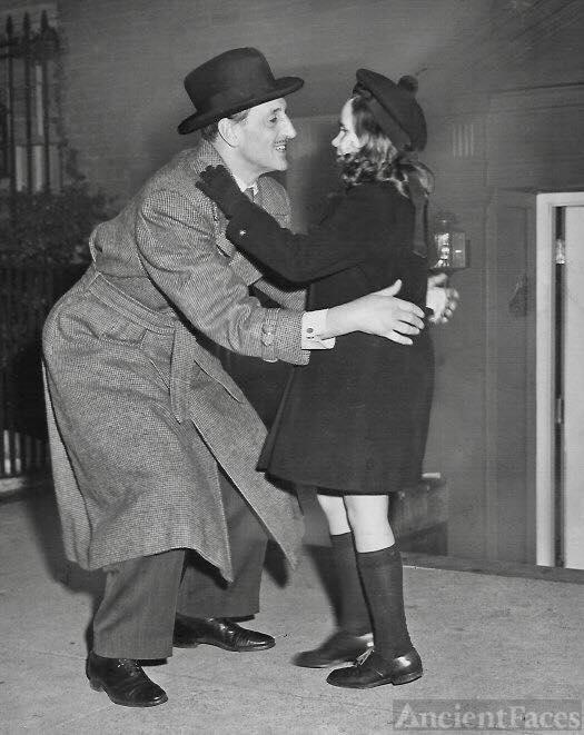 Cynthia and Basil Rathbone