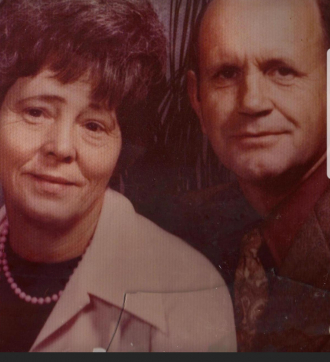 Charles Howell (pawpaw) and wife B. Louise Coogler (mawmaw)