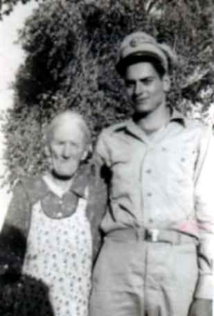 Fannie Yarbrough Patchin & grandson Jesse Patchin