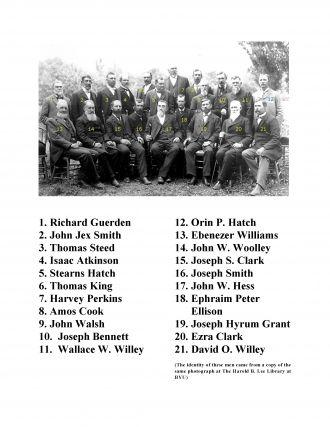 John W. Hess & Davis Stake High Council