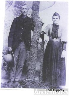Henry & Elizabeth Smedley, TX 1859