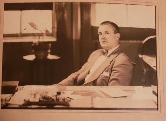 A photo of George F. Pigott