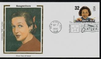 Dorothy Fields postage stamp