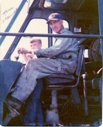 Earl Edward Smith and grandson, NY