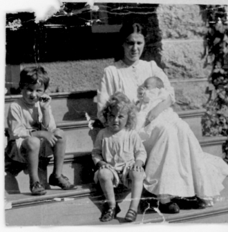 Gert Lundberg and kids