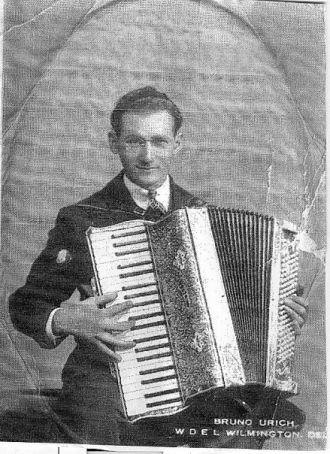 Bruno Uryc, circa 1920's DE