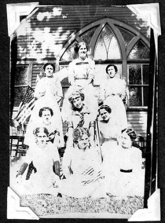 Chapin Christian Church, Illinois 1913