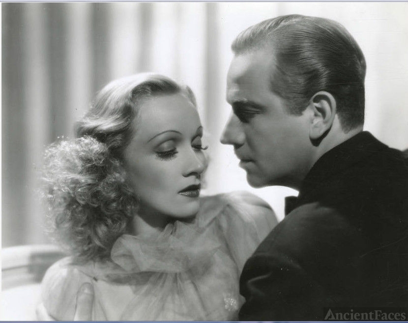 Marlene Dietrich & Melvyn Douglas