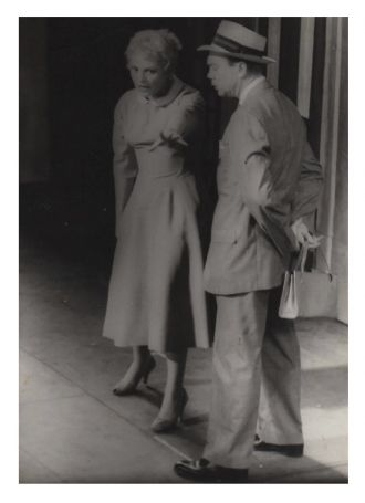 Judy Holliday with Dort Clark