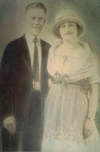 John J & Mary (Hutchings) Costello, Indiana 1921