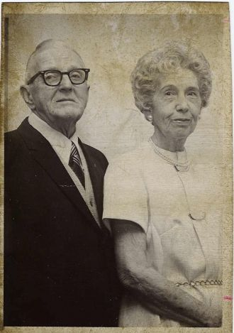 Great Uncle Frank and Great Aunt Lena Neher