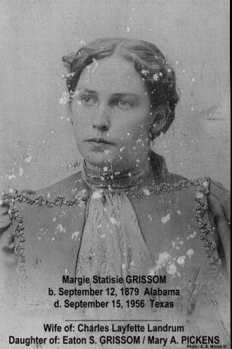 Margie Statisie GRISSOM LANDRUM