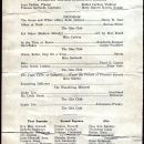 TN College Glee Club Program 1926-27