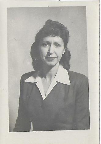 Ruby (Belcher) Gunn   Logan County, Kentucky