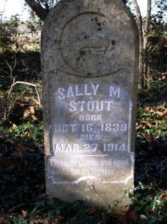Stout, Sally M.-Tombstone