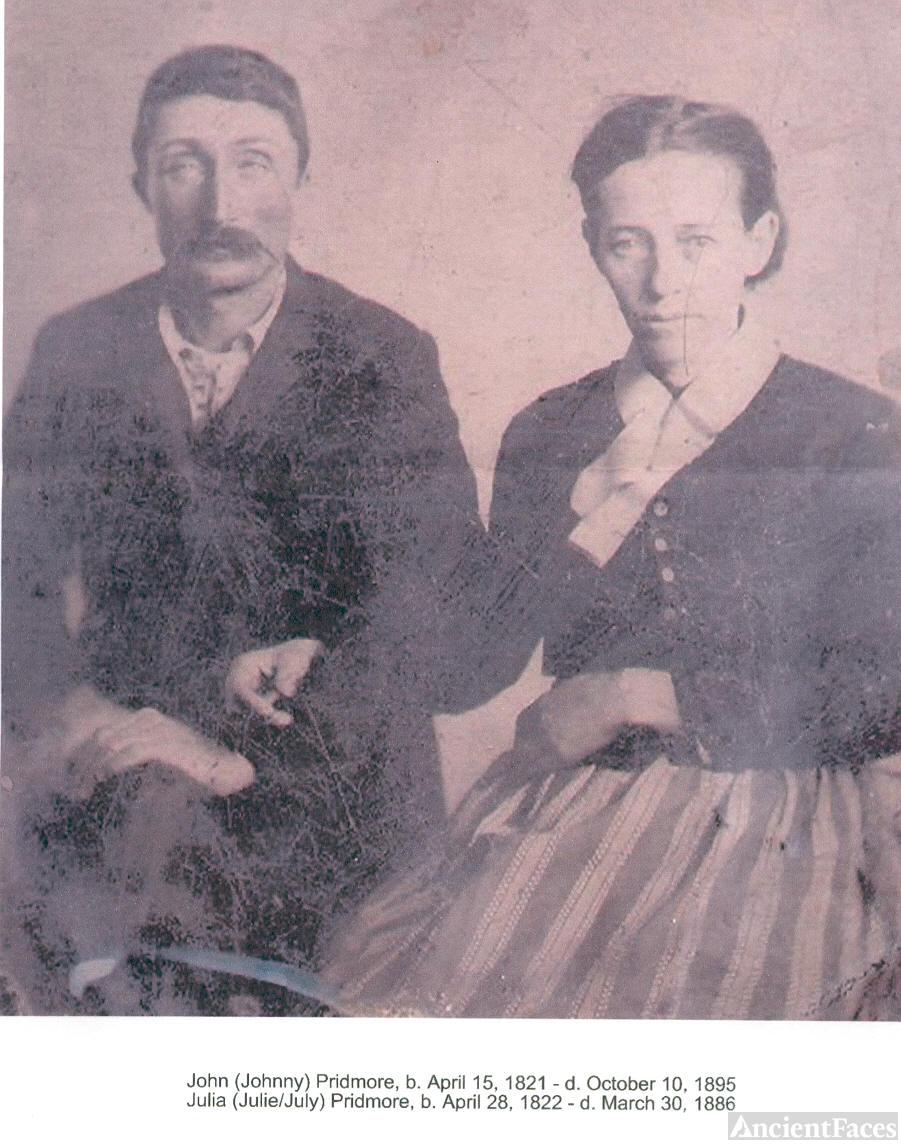 John & Julia Bishop Pridmore
