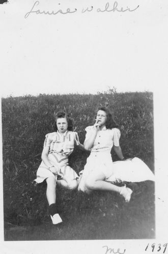 Louise Walker and Betty Mort