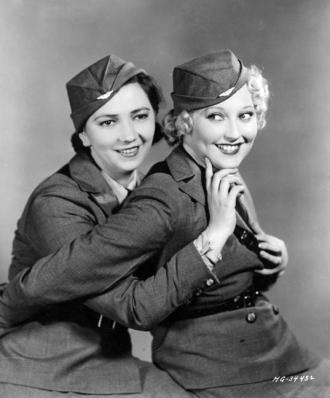 Patsy Kelly and Thelma Todd.
