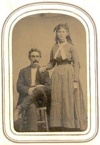 Benjamin Franklin Fleenor & Sarah Emiline Gross